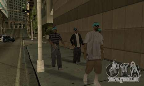 Ändern Bereichen der Banden und Ihre Waffen v1.1 für GTA San Andreas sechsten Screenshot