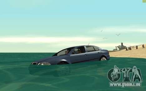 Real Water v1.2 pour GTA San Andreas deuxième écran