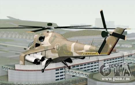 Savage GTA 5 v1.2 pour GTA San Andreas laissé vue