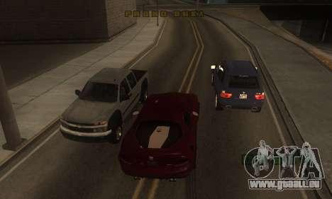 ENB pour les moyennes et PC pour GTA San Andreas quatrième écran