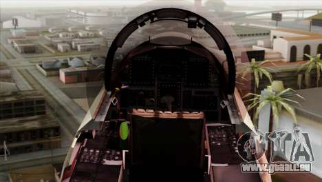 F-15E Strike Eagle Israeli Air Force pour GTA San Andreas vue de droite