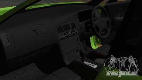 Toyota Mark II Tourer_V für GTA San Andreas Innenansicht