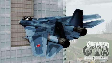 F-14 Japan Air Self Defense Force für GTA San Andreas linke Ansicht