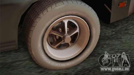 FlatOut 2 Scorpion für GTA San Andreas zurück linke Ansicht