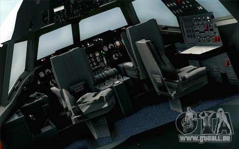 DC-10-30 Garuda Indonesia Sulawesi pour GTA San Andreas vue arrière