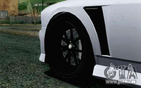 GTA 5 Bravado Buffalo S v2 pour GTA San Andreas sur la vue arrière gauche