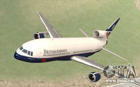 Lookheed L-1011 British Airways für GTA San Andreas