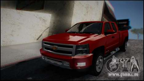 Chevrolet Silverado 1500 HD Stock für GTA San Andreas linke Ansicht