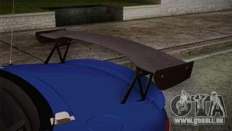 Mazda Miata Cabrio v2 pour GTA San Andreas vue de droite