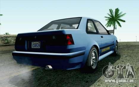 GTA 5 Karin Futo SA Mobile für GTA San Andreas linke Ansicht