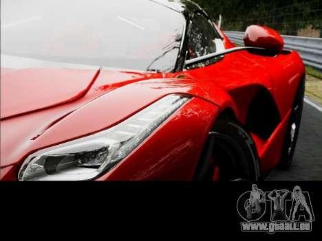 Ferrari Laferrari für GTA 4 hinten links Ansicht