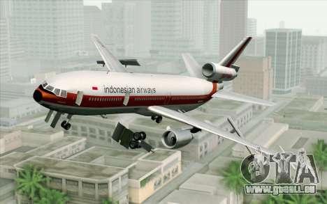 DC-10-30 Garuda Indonesia Sulawesi pour GTA San Andreas