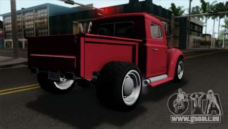 GTA 5 Bravado Rat-Truck IVF für GTA San Andreas linke Ansicht