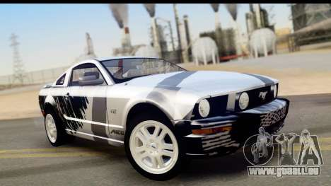 Ford Mustang GT pour GTA San Andreas moteur
