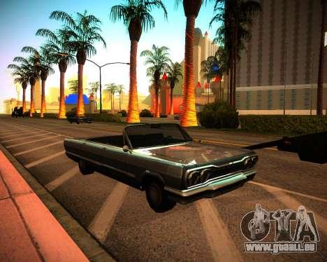 ENB GreenSeries pour GTA San Andreas deuxième écran