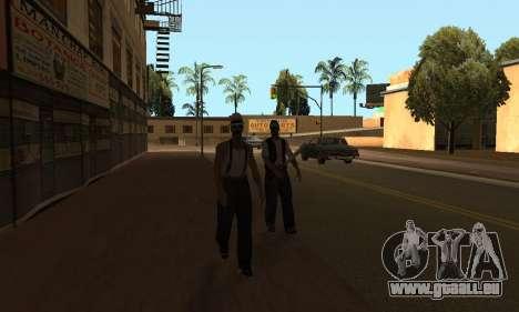 Ändern Bereichen der Banden und Ihre Waffen v1.1 für GTA San Andreas dritten Screenshot