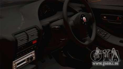 Honda Integra Type R 2000 pour GTA San Andreas vue de droite
