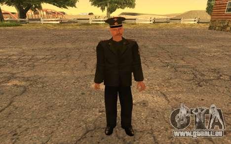 Colonel de l'armée russe pour GTA San Andreas