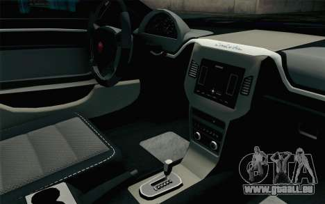 GTA 5 Cheval Fugitive HQLM pour GTA San Andreas vue de droite