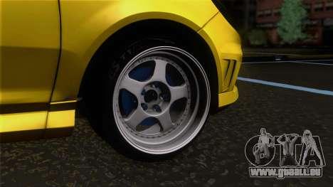 Opel Corsa OPC für GTA San Andreas zurück linke Ansicht