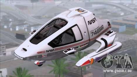 Shuttle v2 Mod 1 für GTA San Andreas