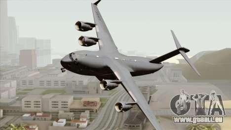 C-17A Globemaster III USAF McChord pour GTA San Andreas