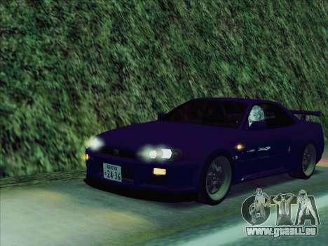 Nissan Skyline GT-R V-Spec (BNR34) für GTA San Andreas