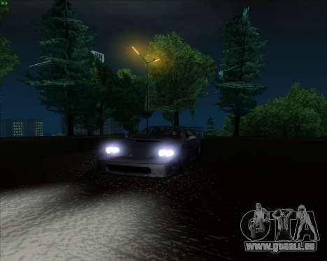 ENB Series New HD pour GTA San Andreas huitième écran