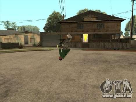 Parkour mod v2.0.4 pour GTA San Andreas troisième écran