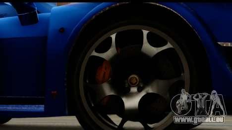 Noble M600 2010 FIV АПП pour GTA San Andreas vue arrière