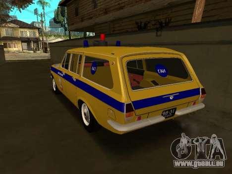 Volga 24-02 GAI pour GTA San Andreas laissé vue