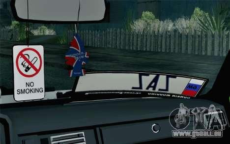 VAZ 2105 Drist-Haken für GTA San Andreas Rückansicht