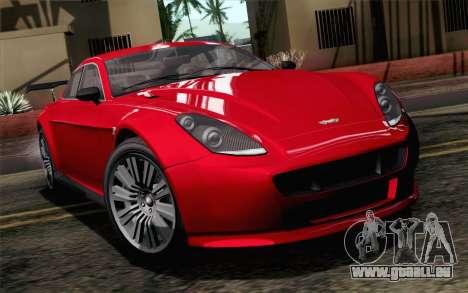 GTA 5 Dewbauchee Exemplar SA Mobile pour GTA San Andreas