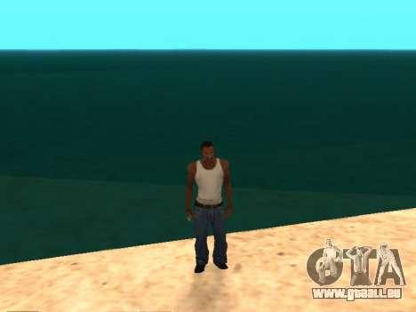 New Particle v0.9 Final pour GTA San Andreas deuxième écran
