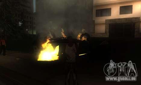 ENB pour les moyennes et PC pour GTA San Andreas huitième écran