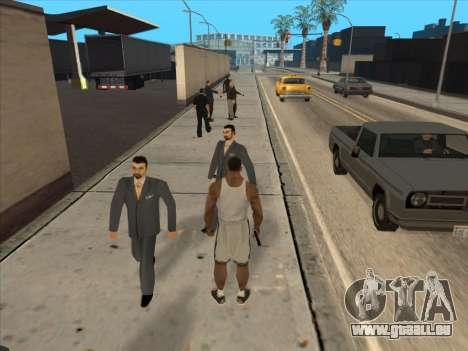 Les Russes dans le quartier Commercial pour GTA San Andreas onzième écran