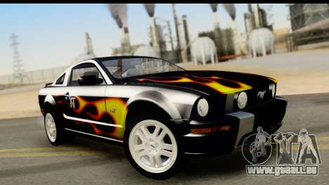 Ford Mustang GT pour GTA San Andreas salon