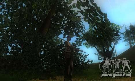 ENB pour les moyennes et PC pour GTA San Andreas neuvième écran