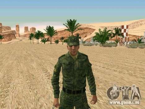 L'armée russe est une nouvelle forme d' pour GTA San Andreas