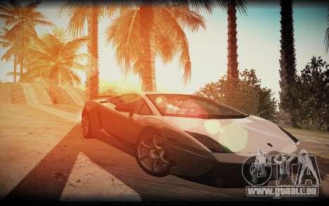 ENB for SA:MP v5 pour GTA San Andreas troisième écran