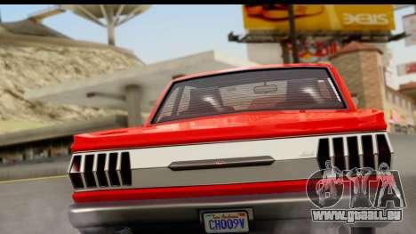 GTA 5 Vapid Blade v2 für GTA San Andreas rechten Ansicht