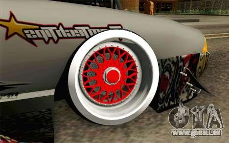 Elegy Modification pour GTA San Andreas sur la vue arrière gauche
