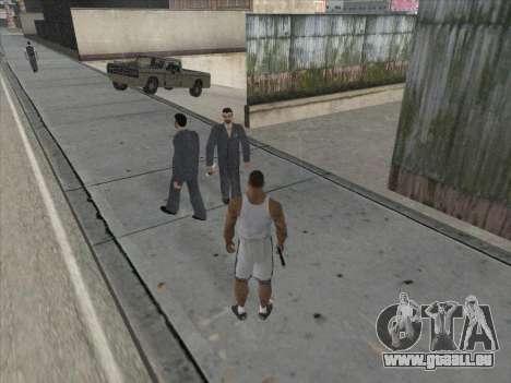 Les Russes dans le quartier Commercial pour GTA San Andreas