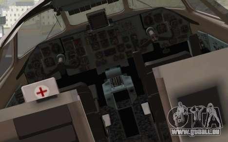 AN-32B Croatian Air Force Opened für GTA San Andreas Rückansicht