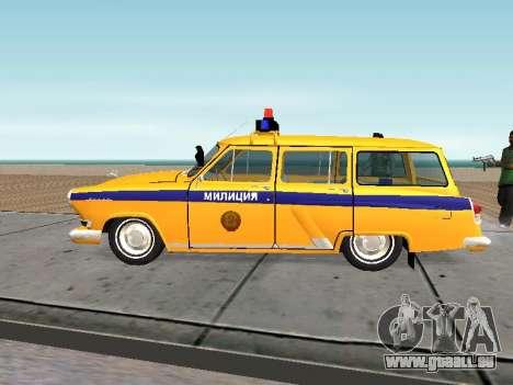 GAS-22 der sowjetischen Polizei für GTA San Andreas linke Ansicht