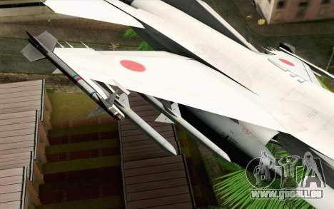 Mitsubishi F-2 Original JASDF Skin für GTA San Andreas rechten Ansicht