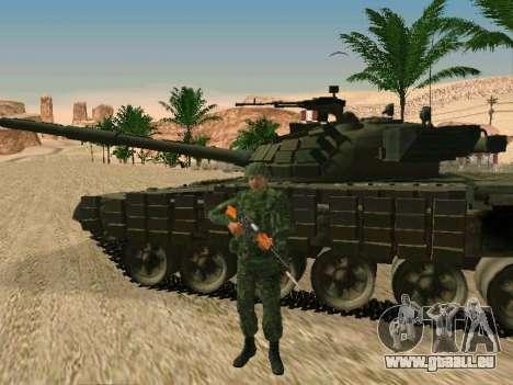 L'armée russe est une nouvelle forme d' pour GTA San Andreas sixième écran