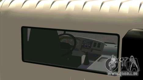 Mitsubishi Fuso Super Great FP-R pour GTA San Andreas vue arrière