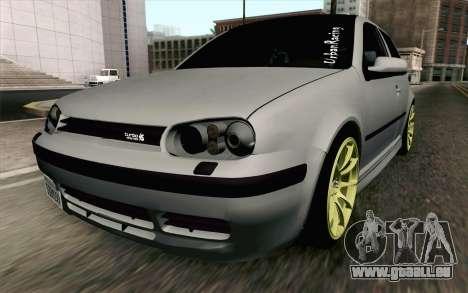 Volkswagen Golf Mk4 2002 Street Daily für GTA San Andreas