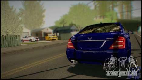 Mercedes-Benz S65 AMG 2012 Road version pour GTA San Andreas vue de droite